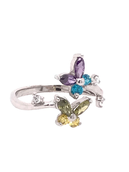Butterfly Lover Toe Ring
