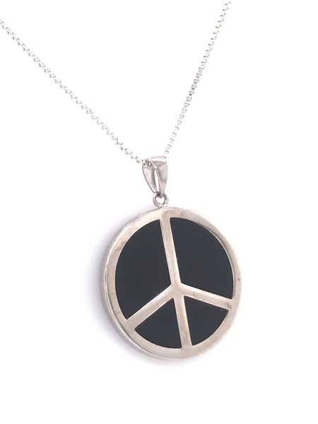World Peace Onyx Pendant