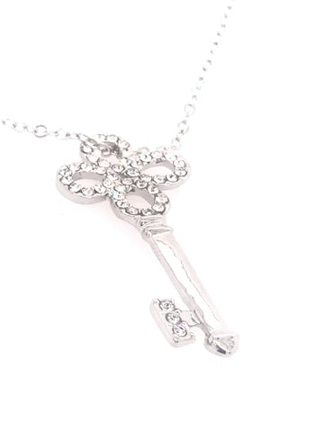 Key to Happiness Swarovski Pendant