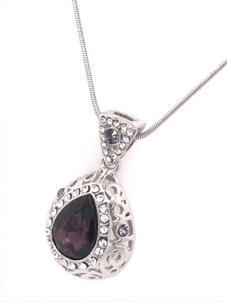 Antique Secret Swarovski Pendant