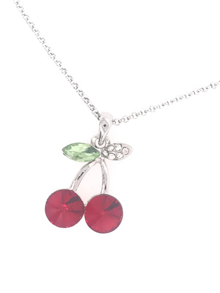 Cherry On Top Swarovski Pendant