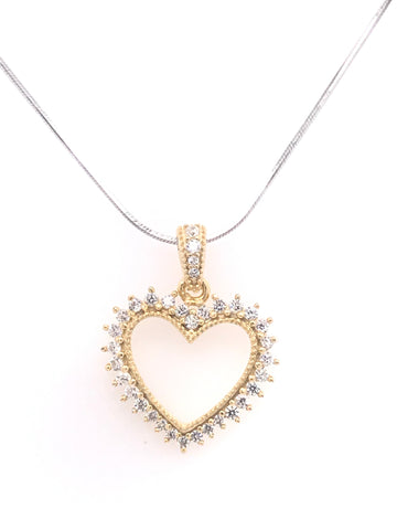 Crown Royal Heart Shape Pendant