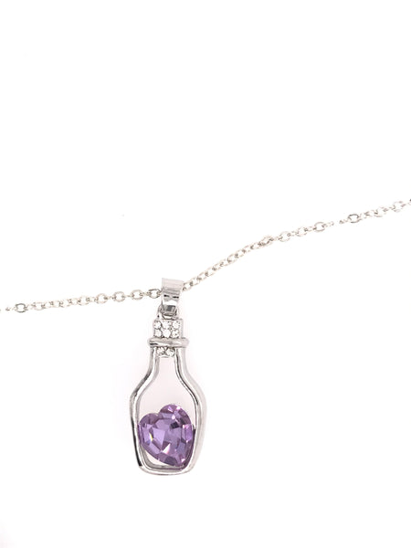 Time In A Bottle Swarovski Pendant
