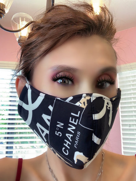 Stop The Spread Fashion Designer Mask Style CHL