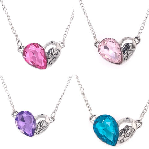 Love Heart Signature Swarovski Necklace