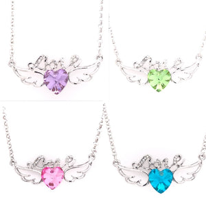 Wings of Love Swarovski Necklace