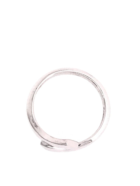 Sterling Silver Plain Polished Toe Ring