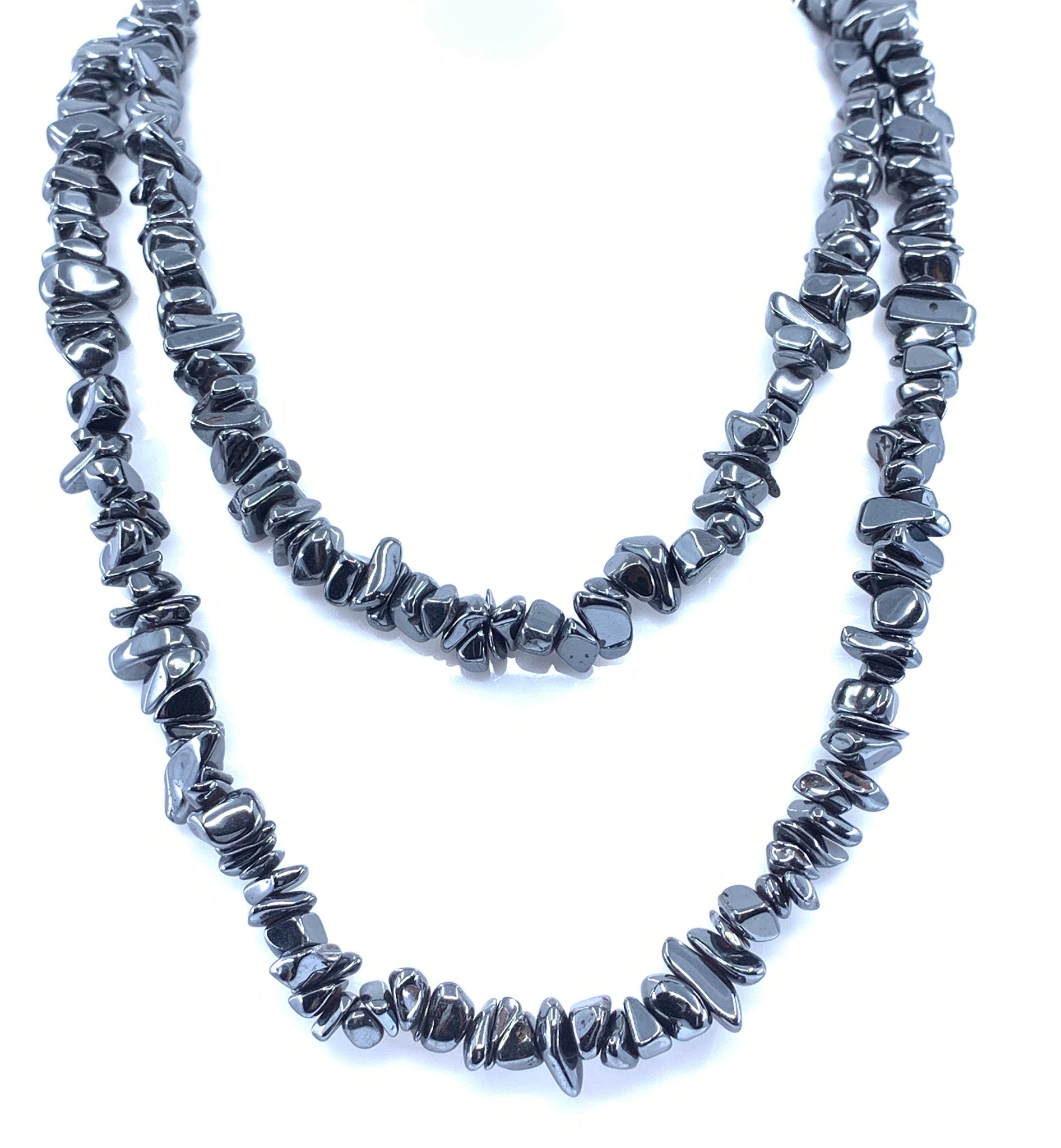 Hematite Gemstone Fashion Design Necklace