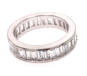 Beautiful Baguette Eternity Ring
