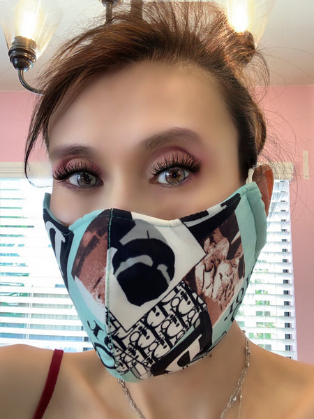 Go Fashion Forward Stylish Face Mask