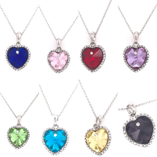 Colors Of My Heart Swarovski Pendant