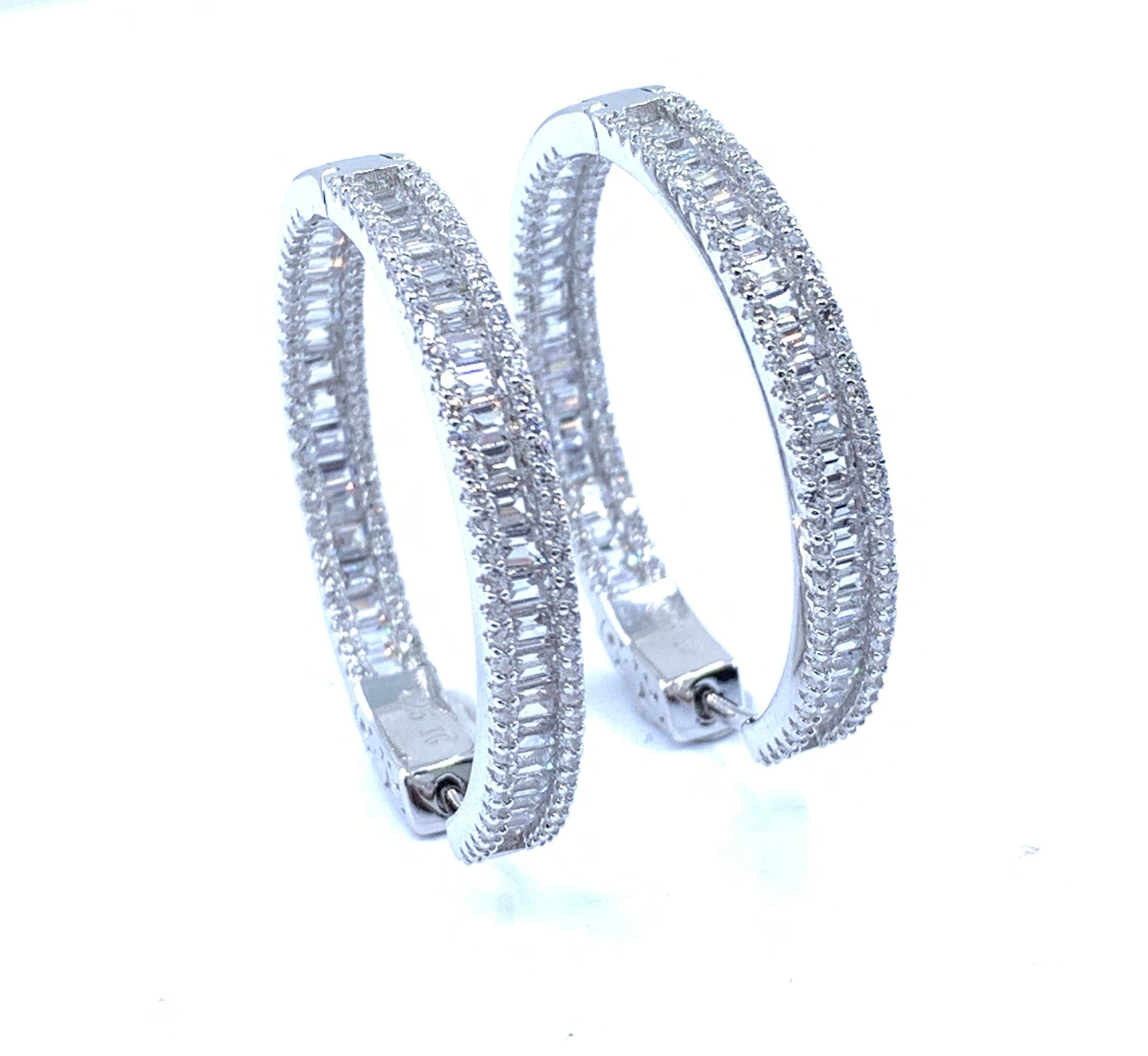 Beautiful Inside Out Hoop Earrings