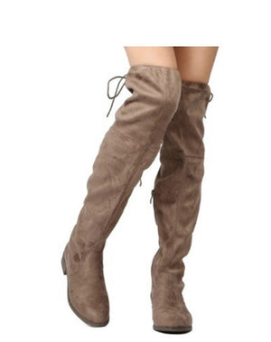 Olympia Knee High Boot- FINAL SALE