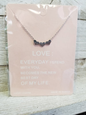 Dainty Rhinestone Necklaces