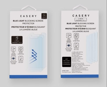 3pk Bluelight Blocking Screen Protector-Iphone