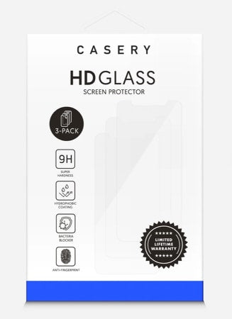 3pk  HD Screen Protector- Iphone