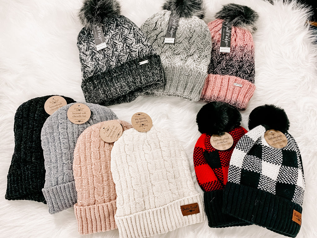 Wintertime Knit Hats