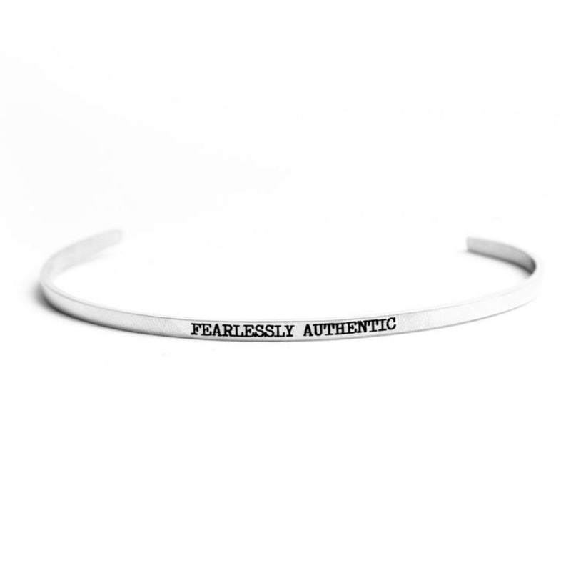 Fearlessly Authentic Bangle
