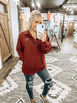 Embroidered AHB Pullover