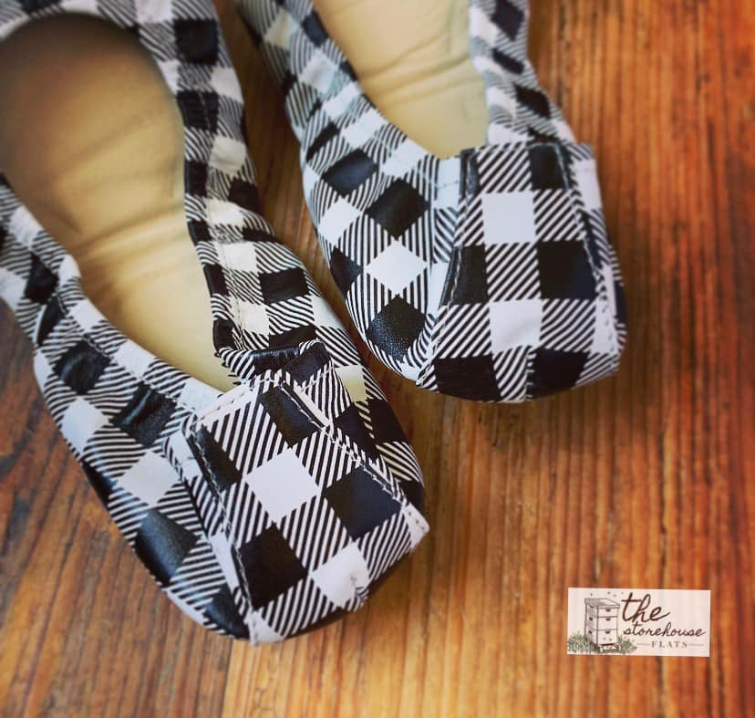 Storehouse - Black & White Plaid