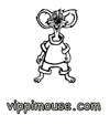 FREE Coloring Page of Vippi Mouse