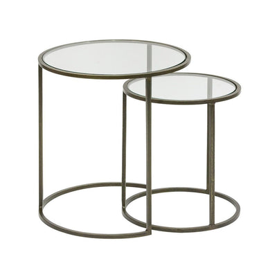 LIAISON NESTED SIDE TABLES