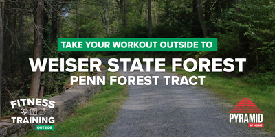 Take Your Workout Outside To: Weisser State Forest