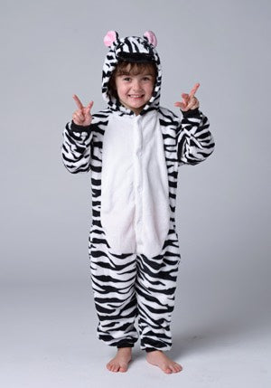 Long Sleeve Zebra Pajama