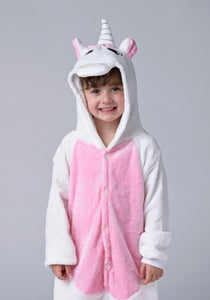 Long Sleeve Pink Unicorn Pajama