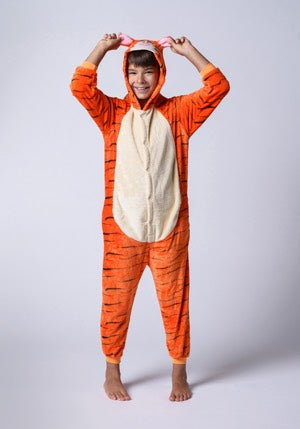 Long Sleeve Tiger Pajama