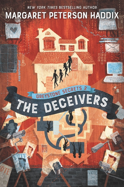 The Deceivers by Haddix, Margaret Peterson