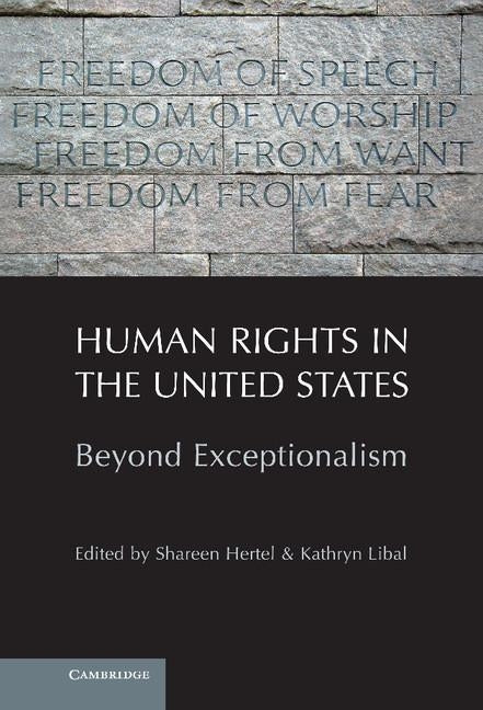 Human Rights in the United States by Hertel, Shareen