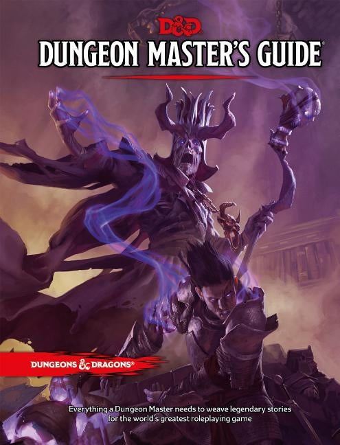 Dungeons & Dragons Dungeon Master's Guide (Core Rulebook, D&d Roleplaying Game) by Wizards RPG Team