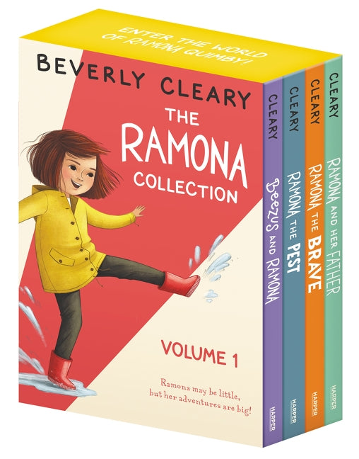 The Ramona Collection, Volume 1: Beezus and Ramona, Ramona and Her Father, Ramona the Brave, Ramona the Pest by Cleary, Beverly