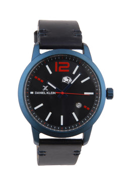 Men's Navy Blue Wrist Watch
