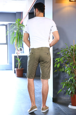 Earth Color Capri Shorts