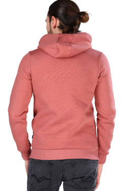 Men's Hooded Dusty Rose Sweatshirt