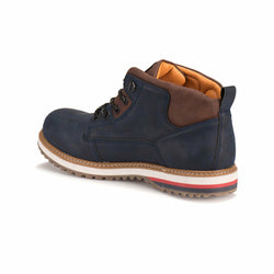 Men's Navy Blue City Boots
