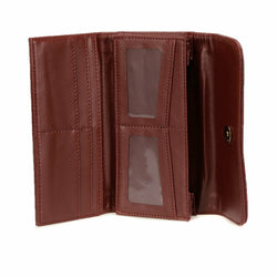 Women's Claret Red Wallet