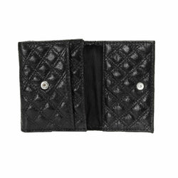 Women's Shiny Black Wallet