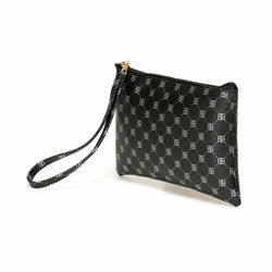 Women's Black Makeup Bag