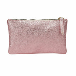 Women's Neon Pink Makeup Bag
