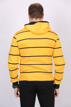 Men's Strip Patterned Sweatshirt