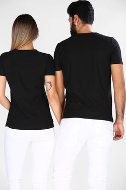 Unisex Basic Black T-shirt