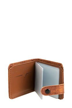 Men's Snapped Brown Wallet