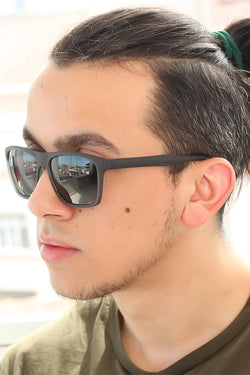Men's Smoky Frame Sunglasses