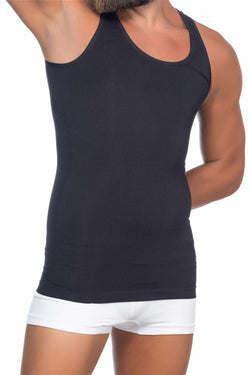 Men's Black Slimming Undershirt
