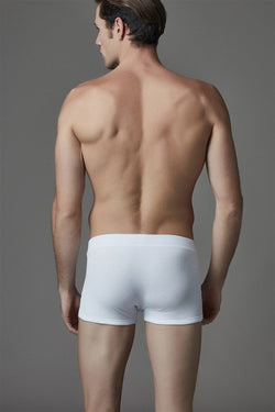 Men's Plain White Boxer