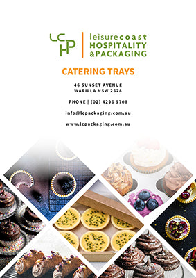 Leisure Coast Hospitality & Packaging Catering Trays Flyer