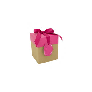 Pop Up Gift Box Corrugated Pink